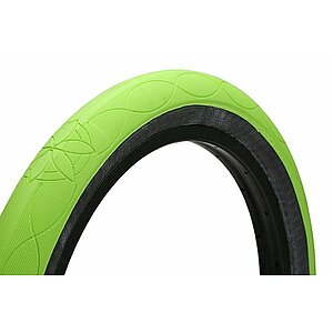 Cult AK Tire fluro green 20''x2.5'' 110 PSI Alex Kennedy Signature