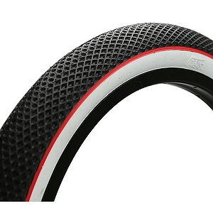 Cult VANS WAFFLE Tire black/white/red 26''x2.1''