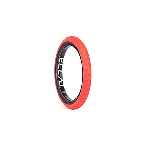 éclat DECODER Tire red/black 20''x2.4'' 80 PSI unfoldable