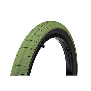 éclat FIREBALL Tire black/army green 20''x2.4''