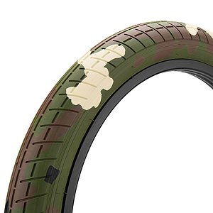 Mission TRACKER Tire woodland camouflage 20''x2.4'' 60 PSI