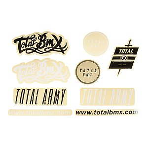 Total BMX TOTAL Sticker Set diverse
