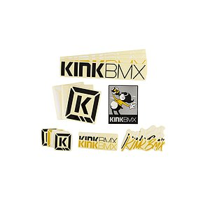Kink ASSORTED Sticker Pack various