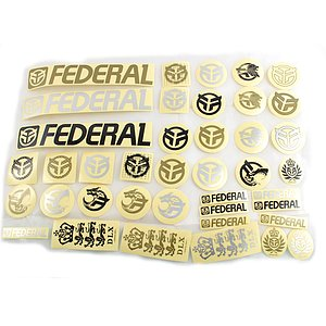 Federal 2016 Sticker Pack diverse