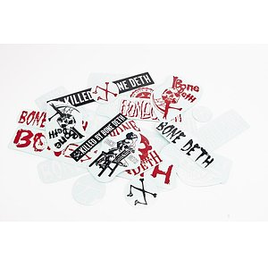 Bone Deth MIXED Sticker Set various