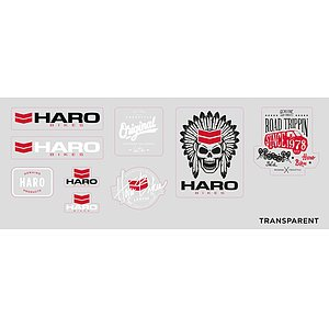 Haro 2017 Sticker Set