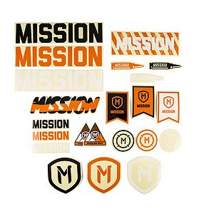 Mission ASSORTED Sticker Pack diverse