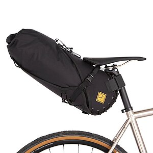 Restrap BIG Saddlebag with dry bag black 14L