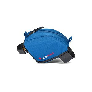 Acepac TUBE BAG Rahmentasche blau