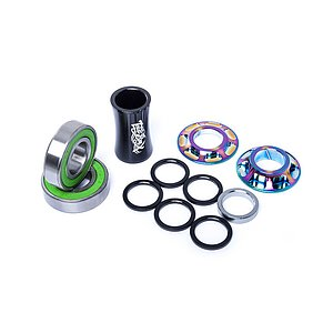 Total BMX TEAM BB KIT Lager regenbogen 22mm
