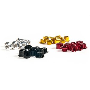 Hausmarke Chainwheel Bolts red metallic 7075 alloy