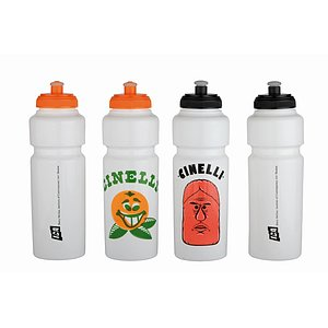 Cinelli BARRY MCGEE Trinkflasche white/black Kunststoff