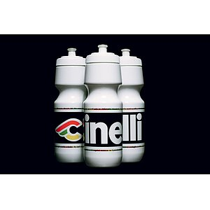 Cinelli C-RIDE Bottle white plastic