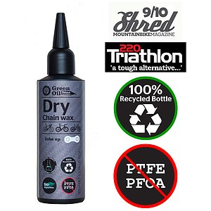 Green Oil DRY Chain Wax 100ml