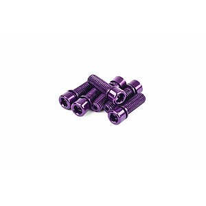 Mission HOLLOW Stem Bolts purple