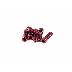 Mission HOLLOW Stem Bolts red