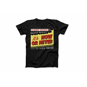 Kink NOW OR NEVER T-Shirt black XL