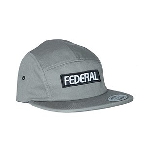 Federal 5 PANEL Mütze grau one size fits most