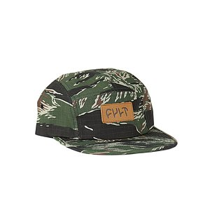 Cult CAMPER Mütze tiger camo one size fits most leather patch
