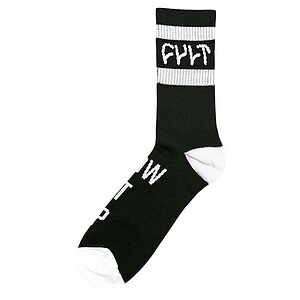 Cult BURN IT DOWN Socken schwarz/weiss one size fits most