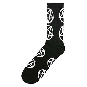 Cult PENTAGRAM Socken schwarz/weiss one size fits most