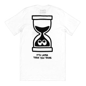 Cult LATER LOGO T-Shirt weiss M