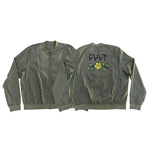 Cult IN BLOOM Lightweight Bomber Jacket