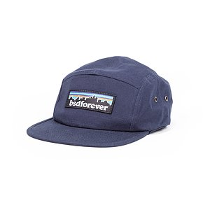BSD OUTDOORS 5-Panel Mütze navy größenverstellbar