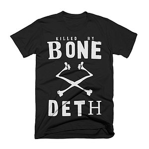 Bone Deth KILLED BY BONE DETH T-Shirt schwarz XL