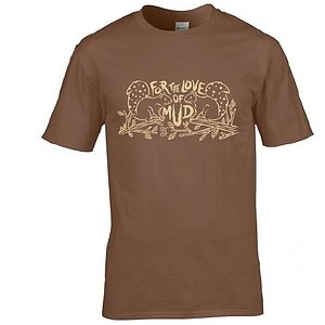Bombtrack FOR THE LOVE OF MUD T-Shirt