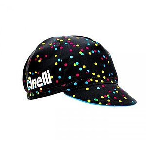 Cinelli CALEIDO DOTS Cap black one size fits most