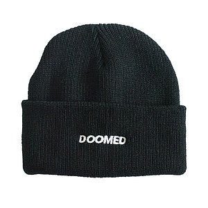 Doomed LOGO Beanie schwarz one size fits most