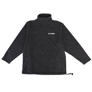 Doomed THE END Half-Zip Micro Fleece Jacket