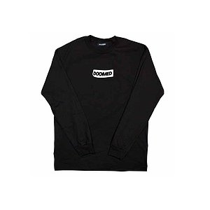 Doomed STICKY Longsleeve black L