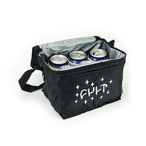 Cult 6-PACK Cooler black