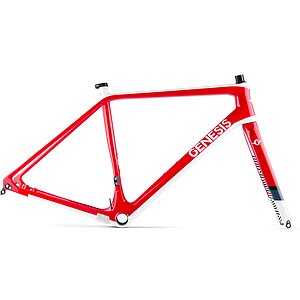 Genesis 2018 VAPOUR CARBON CX Frame Fork Set red L 56cm