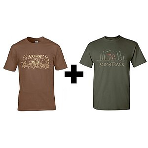 Bombtrack FOR THE LOVE OF MUD + GET WILD T-Shirt Set